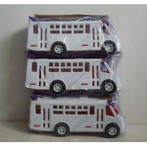 Autobus Zafiro Ayco Set De 3 - Microbus Camioncito Escala