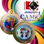 Medalla Rendonda Para Graduación, Preescolar, Premiacion.