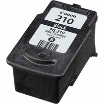 Cartucho Canon Pg 210 Ip2700 Mp240 250 260 270 280 480 490 S