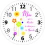 Relogio Madeira 29x29cm Presente Dia Das Mães, Aniversario