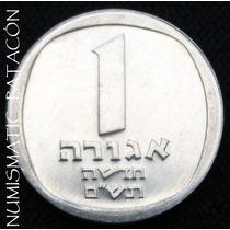 Moneda De Israel 1 Agorot 1980 - Sin Circular