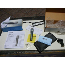 Microfono Shure Beta57a Dinamico 100 % Original (mex)nuevo