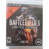 Ps3 - Battlefield 3 Limited Edition- Alemão Games