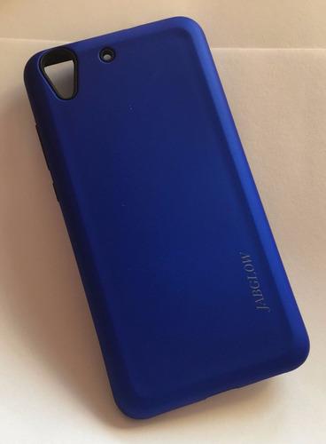Wow Funda Texturizada Azul Huawei Cam L03 Gw Y6 Ii   9h Clar