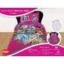 Set Sabanas Y Cover Monster High 1 1/2 Plazas Piñata