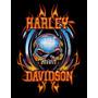 Patch Harley Davidson 1- Camiseta, Calça, Bolsa, Mochila Etc