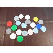 Antigas Fichas De Poker - Plástico