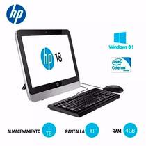 Combo Hp All In One Desk Impresora 18-5011   1tb 4gb 18