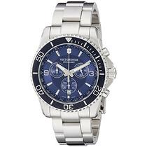 Relógio Victorinox 241689 Swiss Army Maverick Chrono Azul