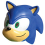 Sonic The Hedgehog Sonic 3/4 Vinyl Mask