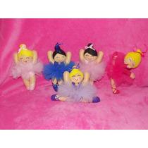 Muñecas Bailarinas De Fieltro