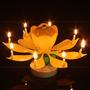 Hot Loto De Flor Mágica Cumpleaños Musical Giratorio