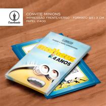 27 Convites Personalizados Minions