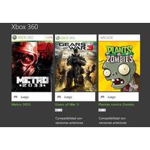 Gears Of War 3 Xbox 360 Y One!! Incluye Dos Juegos Mas.