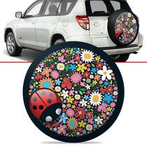 Capa De Estepe Joaninha Toyota Rav4 Com Cadeado 2012 A 2006