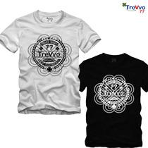 Kit 6 Pç Camisa Camisetas Alg Eco Nine Thugs 30.01 Slim Fit