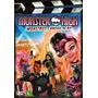Monster High - Monstros, Câmera, Ação! - Dvd - Novo