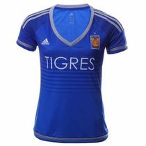 Jersey Tigres Uanl Mujer Nuevo Original Adidas Dama