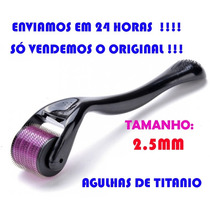 Dermaroller 2.5 Mm - 540 Agulhas Anvisa No.80213730012
