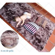 Tapete Peludo Quarto 2,00x2,40 Sala De Estar Shaggy Luxo
