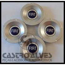 Kit 4 Pçs Calota Tampa Centro Roda Fiat Stilo Abarth Aro 15