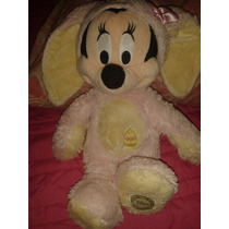 Peluche Hermoso Mimie Mouse Disfraz Coneja Pascua Minnie