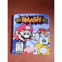 Label Super Smash Bros - Etiquetas N64 Qualidade 100% !