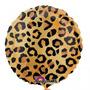 Globo Metalizado Animal Print Leopardo 18 Pulgadas