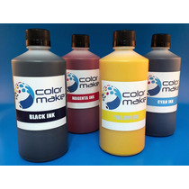 Tinta Color Make Sublimacion Para Impresoras Epson 500cc
