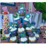 Toppers Y Wrappers Para Ponques Minnie Peppa Frozen Cars