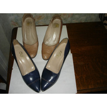 Zapatos De Cabretilla (el Valor Es Por Los 2 Pares)