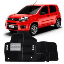 Tapete Carpete Lavável Fiat Novo Uno 11 12 13 14 15 - 5 Pçs
