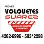 Alquiler De Volquete Zona Sur 4262-6996