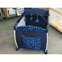 Berço Cercadinho Confort First Steps Azul Novo