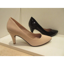 Hermosos Stilettos Ultima Moda!!! Negros Y Color Nude