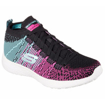 Zapatos Skechers Para Damas Burst-space 12732 - Bblp