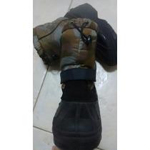 Botas Para Nieve Con Corderito 36/37