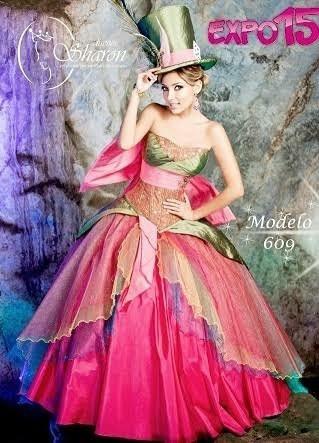 d631856e3 Vestido Xv Años  Sombrerero Loco -   2