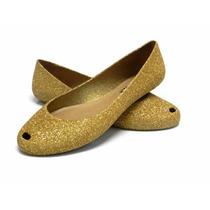31 Pares Sapatilhas Confortáveis Glitter Estilo Melissa
