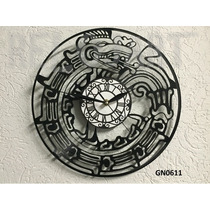 Original Reloj De Pared En Disco De Vinil - Serpiente