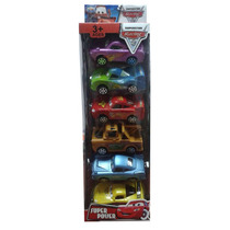 Set De Carritos Cars De 6pzas