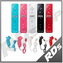 Wii U Mote Motion Plus Nunchuk Correa Funda Colores Wiimote
