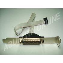 Puerto Serial Com Rs232 Conector Db25 Macho Motherboard Pc