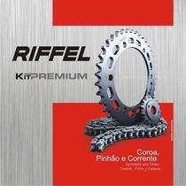 Kit De Relação Yamaha Xtz 125 Riffel Premium