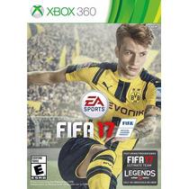 Fifa 17 - Xbox 360 - Midia Fisica Lacrada. Pt Br