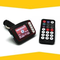 Transmisor Fm 5 En 1 Mp4 Carro De 4gb Con Control Usb Sd