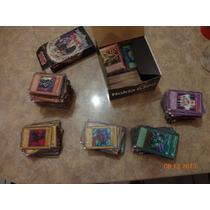 Coleccion Cartas Yu Gi Oh+de250normales+de350c/efecto+50rara