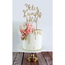 Cake Toppers Adorno Tortas Personalizado Cumpleaños