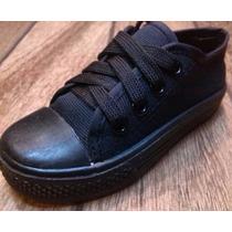 Zapatos Escolares Negros ¡oferta!