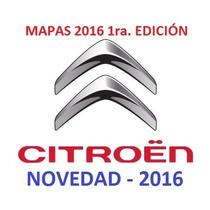Actualización Gps Citroen C4 / C3 Versión 2016 1ra Ed.